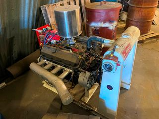 Brand New 454 Chevrolet Irrigation Engine   NEVER USED  was simply a spare unit