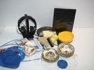 Headphones  China  etc