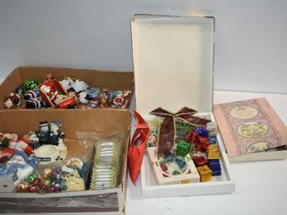 Christmas Ornaments and Tags  etc