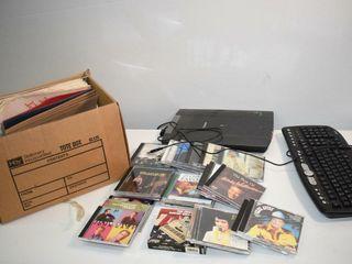 CDs  Keyboard  Files  etc