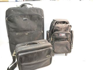 Suitcase  Briefcase  Back Pack