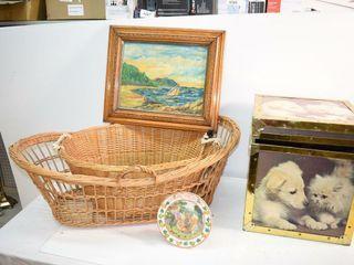 Baskets  Painting  TinBox