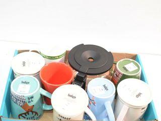Coffee Pot and Mugs  new