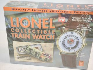 lionel Collectible Train Watch  factory sealed