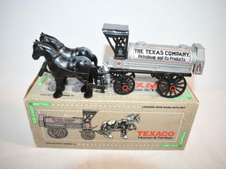 ERTl Die Cast Texaco Horse and Tanker