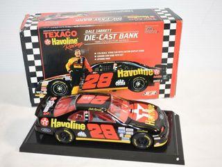 Texaco Havoline Racing 1995 Die Cast Bank