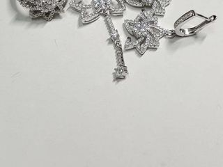 Silver Cubic Zirconia Set  Size 6   EC25 15