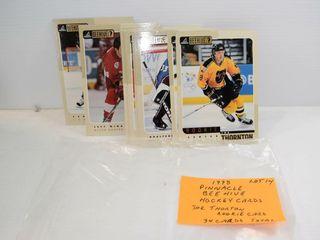 1998 PINNAClE NHl Beehive 34 Cards