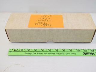 1989 PROSET NFl CARDS