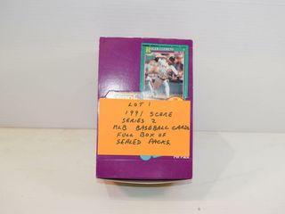 1991 SCORE MlB Seales Packs