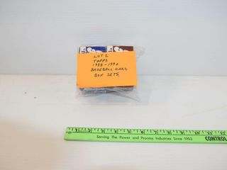1988 90 MlB box sets