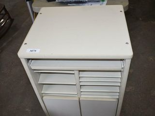 Cabinet with Pull Out Trays 21  x19  x31  tall