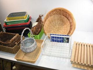 Baskets and Breadboard