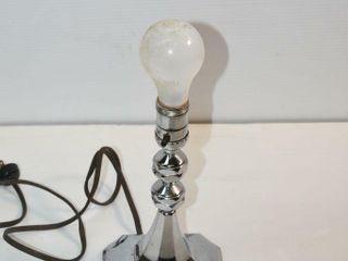 Chrome 1950 s Table lamp