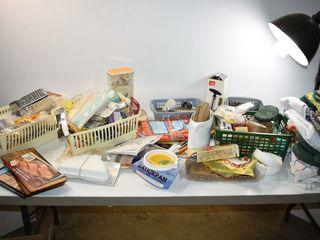Kitchen Cupboard Contents