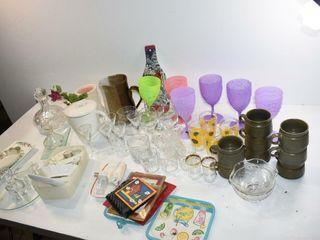 Acrylic Stemware  Glassware  etc