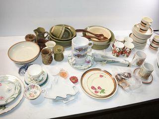 Pottery  China  etc