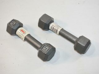 2  5lb Weights