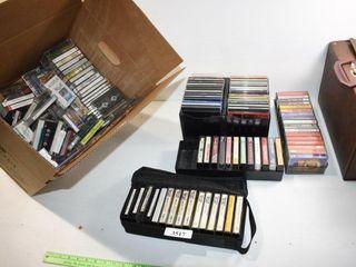 Cassettes   CDs