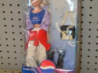 Pepsi 11  Posable Doll