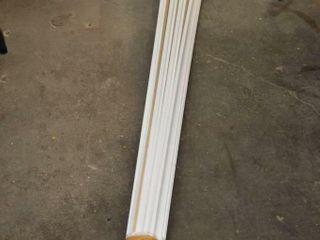 Bundle of Primed Trim  2 5  x 7ft