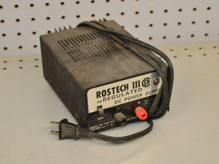 Rostech III DC Power Supply