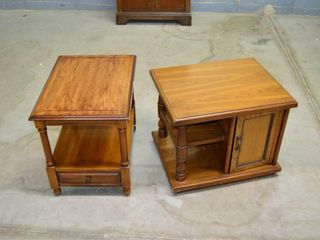 2  End Tables   25  x 20