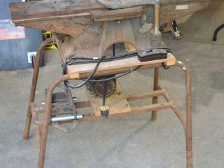 Beaver Power Tools 6  Jointer on Stand