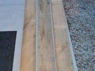 3pc  Red Oak Planks    8ft x 8  x 1