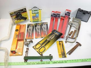 large grouping of tools