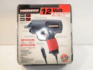 POWERBUIlT 12 volt DC Impact Unused