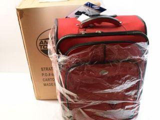 AMERICAN TOURISM unused suitcase