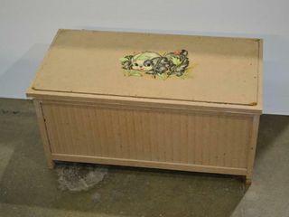 Vintage Toybox  30  x 15  x 15