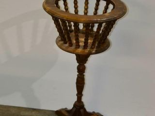 Wooden Plant Stand  30 h