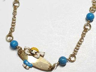 Silver Blue Turquoise Bracelet  EC25 2   D2