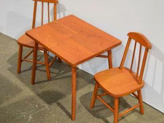 Child s Table and Chair Set