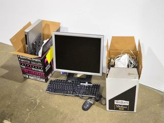 Grp   2  Boxes of Computer Accessories