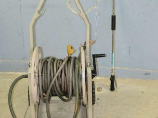 Hose Reel and Watering Wand