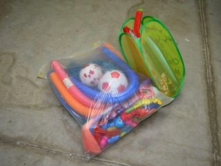 Grp  of Sports Equipment and Toys