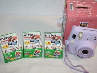 InstaMax Mini 11 and film