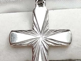 Silver Cross Pendant  EC25 43   D2