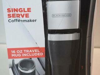 Black   Decker Single Serve Coffeemaker