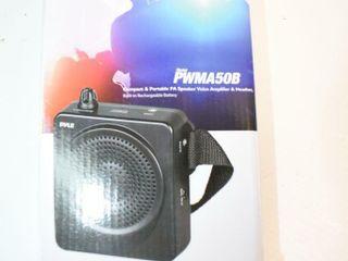 PYlE Portable PA Speaker Amplifier   Headset