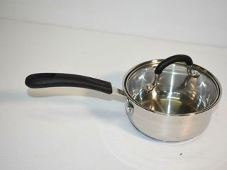 1 Quart Stainless Steel Sauce Pan with lid