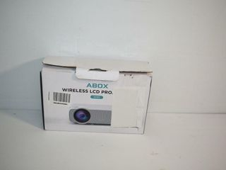 ABOX Wireless lCD Projector