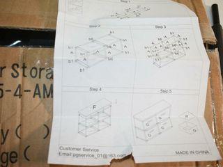 4  Drawer Storage Shelf fabric