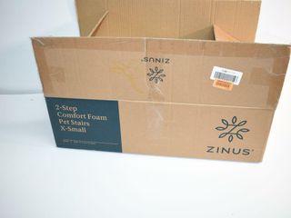 Zinus 2 Step Comfort Foam Pet Stairs XS