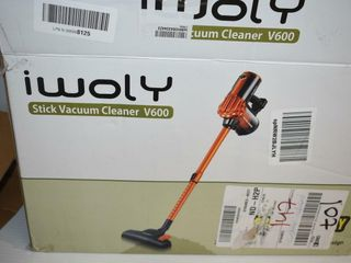 Iwoly Stick Vaccum Cleaner V600  tested to turn on