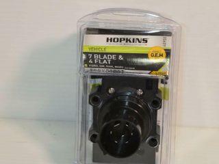 Hopkins 7 Blade   4 Flat Trailer Connector