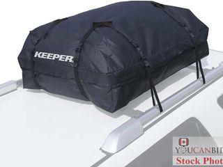 Keeper 07204 Black Premium Waterproof Cargo Bag